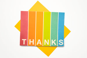 Thanks Gratitude Card
