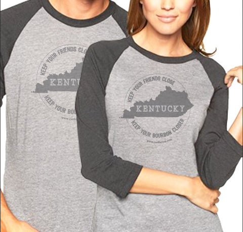 Kentucky Bourbon Raglan Shirt