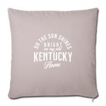 Load image into Gallery viewer, My Old Kentucky Home Throw Pillow Cover - light taupe