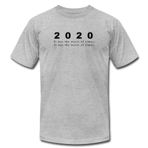 2020 Unisex T-Shirt - heather gray