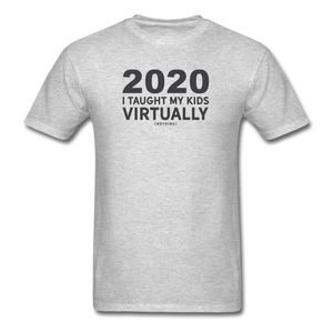 2020 Virtually Learning T-Shirt - heather gray
