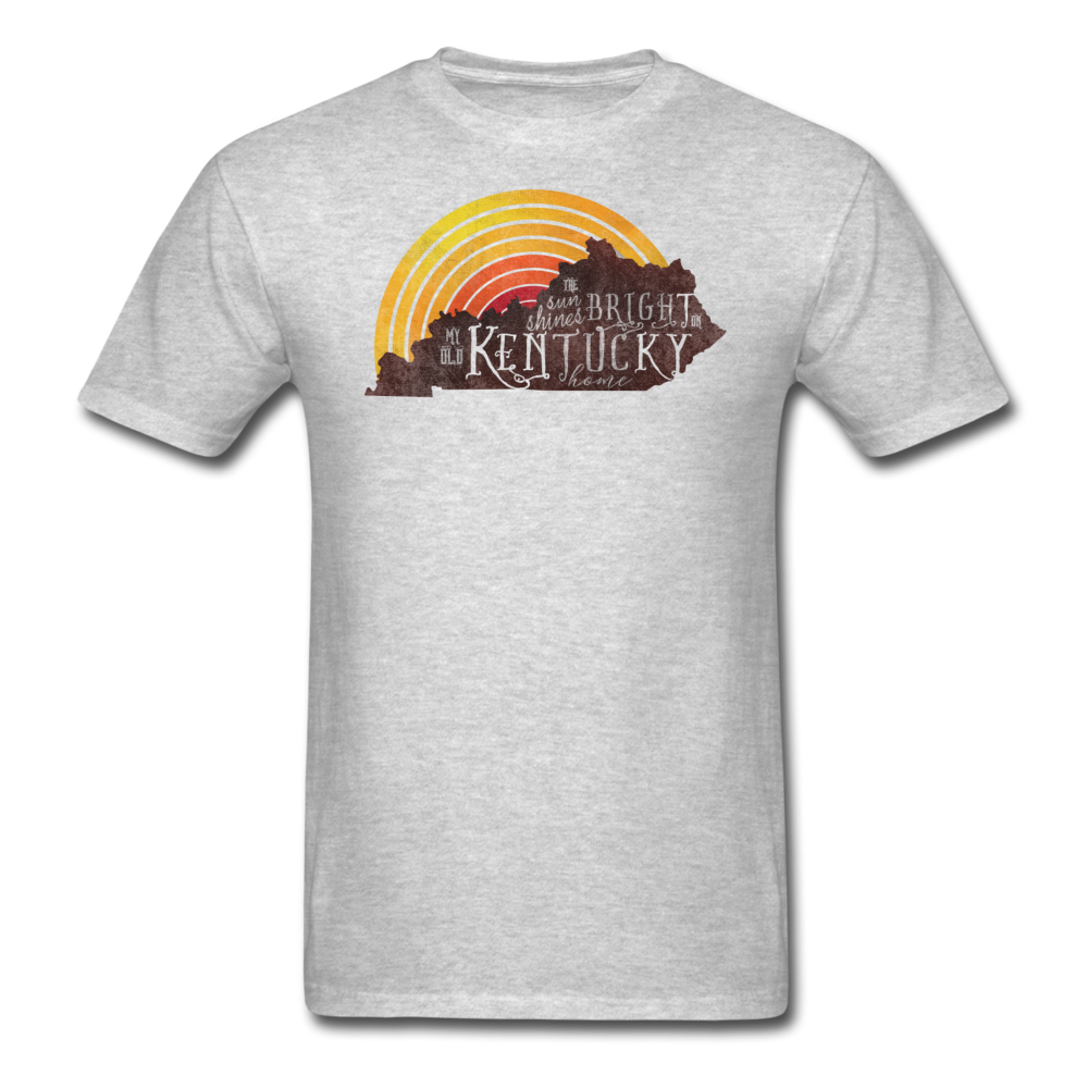 Kentucky Home Unisex T-Shirt - heather gray