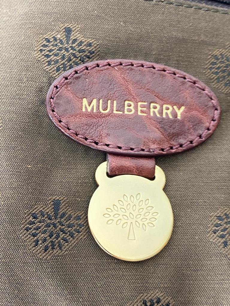 MULBERRY Large Grain Nappa Medium ALEXA Bag