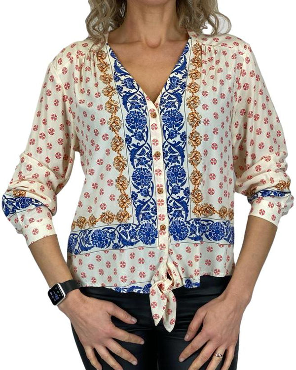 MAEVE BY ANTHROPOLOGIE Top Size M