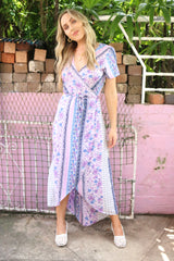 Love Poem wrap dress