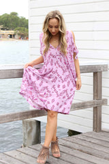 Heartstone Mini Kaftan dress