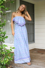 The Bower Bird Strapless Maxi