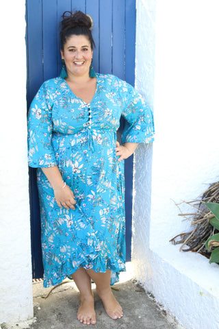 Blue Lagoon Festive Dress