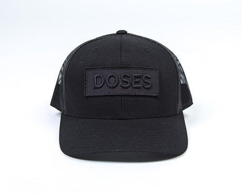 Doses Patched Trucker Snapback
