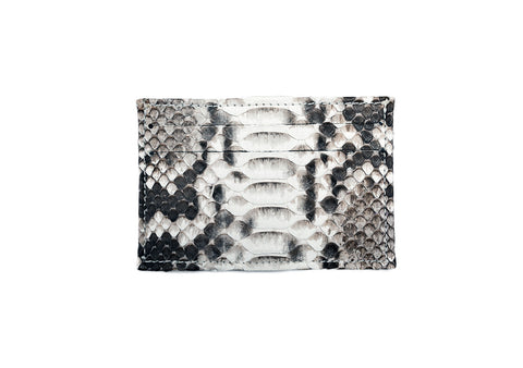 Natural Snakeskin Slip Wallet