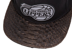 3M Reflective Los Angeles Clippers Snakeskin Strapback