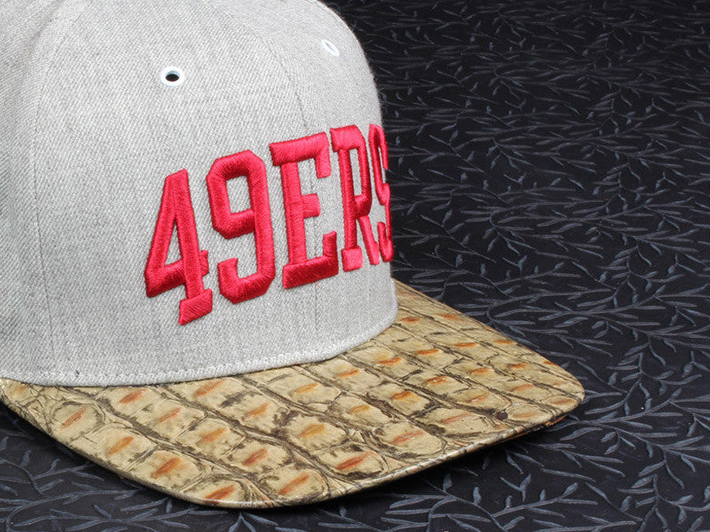 49'ers Alligator Strapback