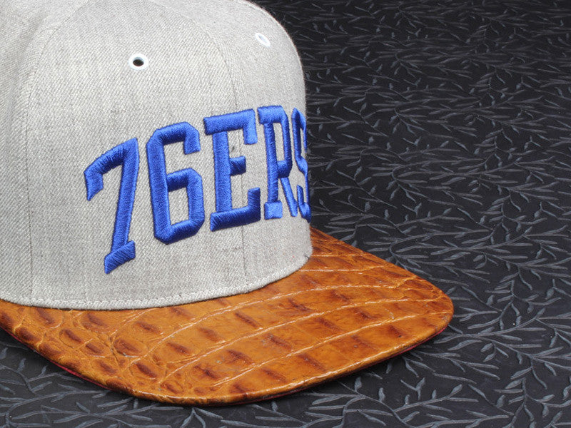 76'ers Alligator Strapback