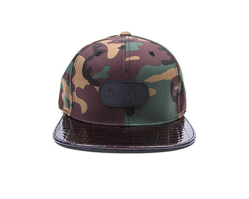 Doses Camo Patent Leather Strapback