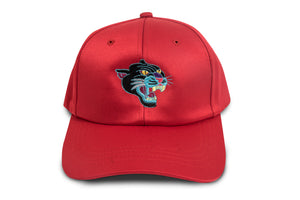 Panthera Satin Strapback (Red)