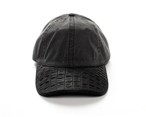 Doses Distressed Alligator Strapback