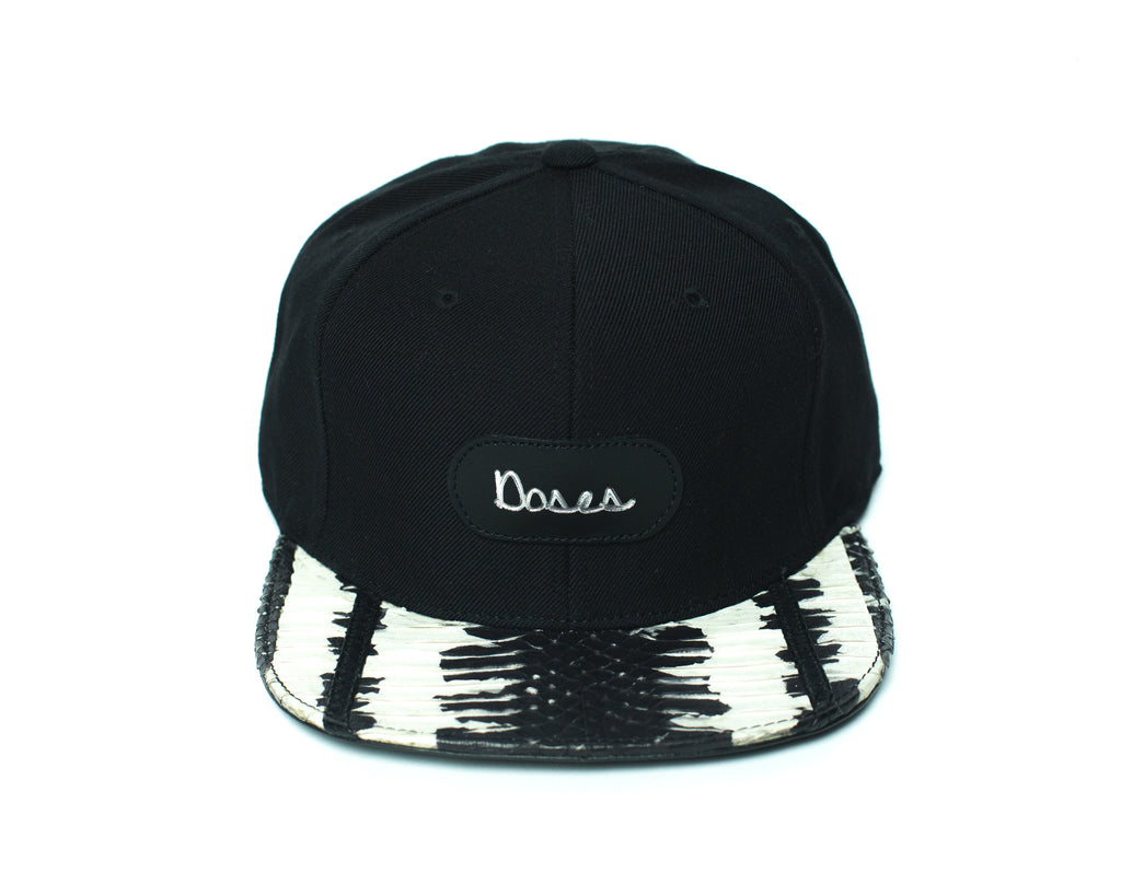 Doses Striped Snakeskin Strapback *SOLD OUT