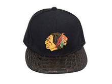 Blackhawks Alligator Strapback