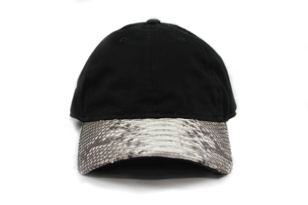 Doses Relaxed Natural Snakeskin Strapback