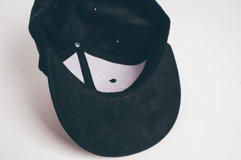 Doses Cursive Suede Strapback *SOLD OUT