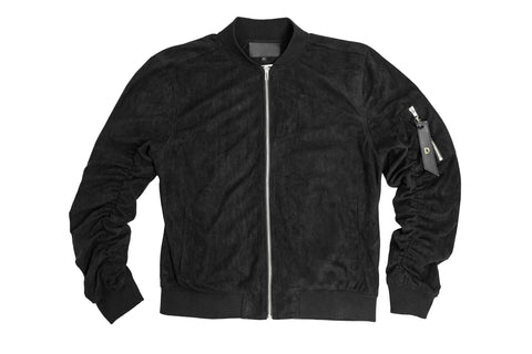 Doses Suede Leather Bomber Jacket *SOLD OUT