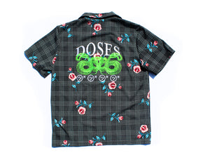 Doses Plaid Snake Shirt