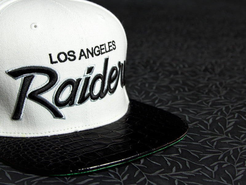 Raiders Alligator Strapback
