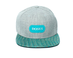 Doses Tiffany Alligator Strapback