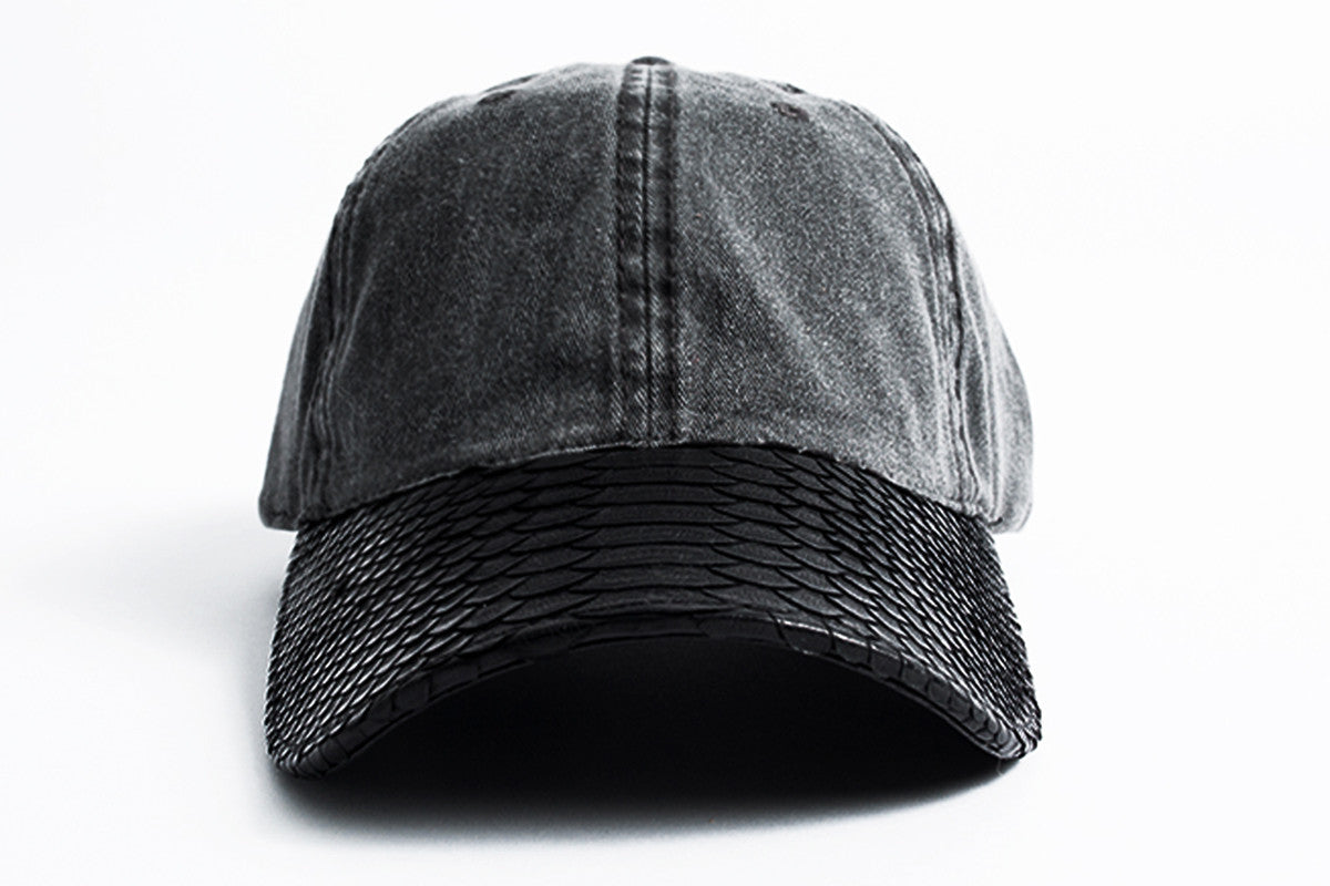 febf7c84ad3 Doses Distressed Snakeskin Strapback – Daily Doses