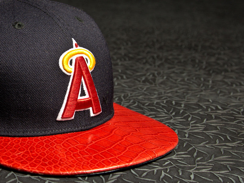 Anaheim Angels Alligator Strapback