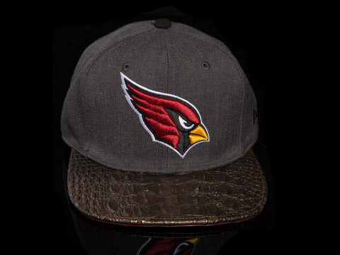 Arizona Cardinals Alligator Strapback