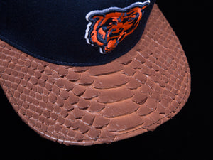 Chicago Bears Snakeskin Strapback