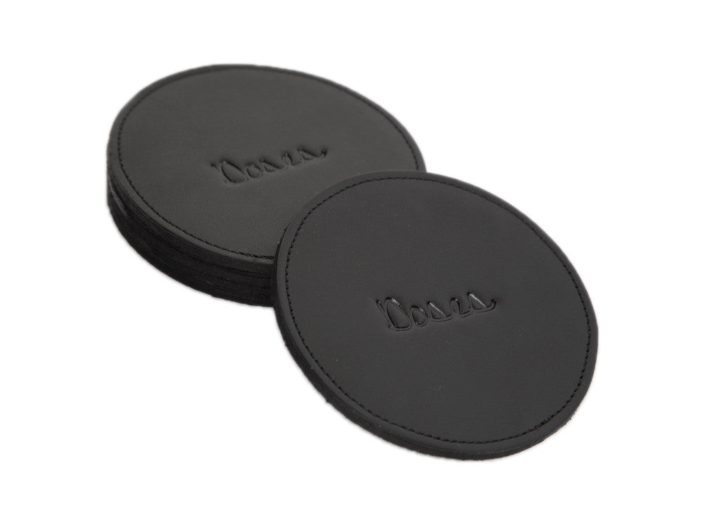Doses Leather Coaster Set