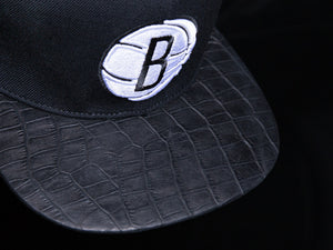 Brooklyn Nets Alligator Strapback