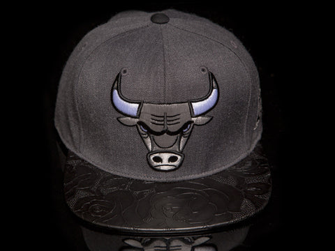 Chicago Bulls Rose Leather Strapback