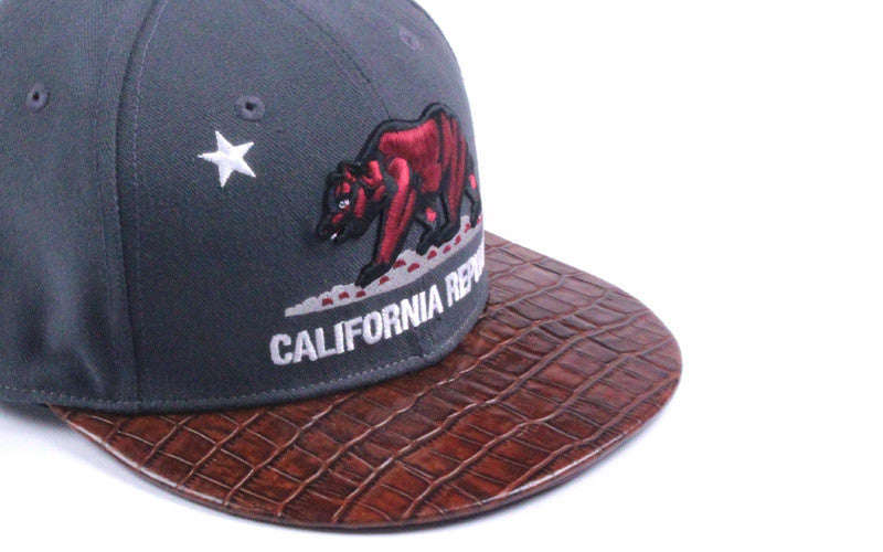 California Republic Alligator Strapback