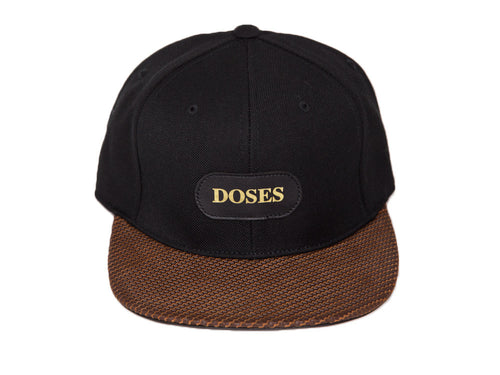 Doses Carbon Leather Strapback