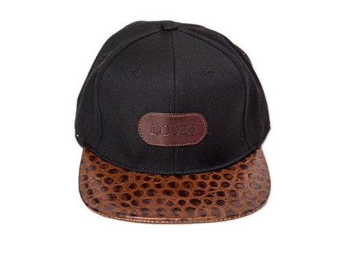 Doses Cognac Spotted Gator Strapback