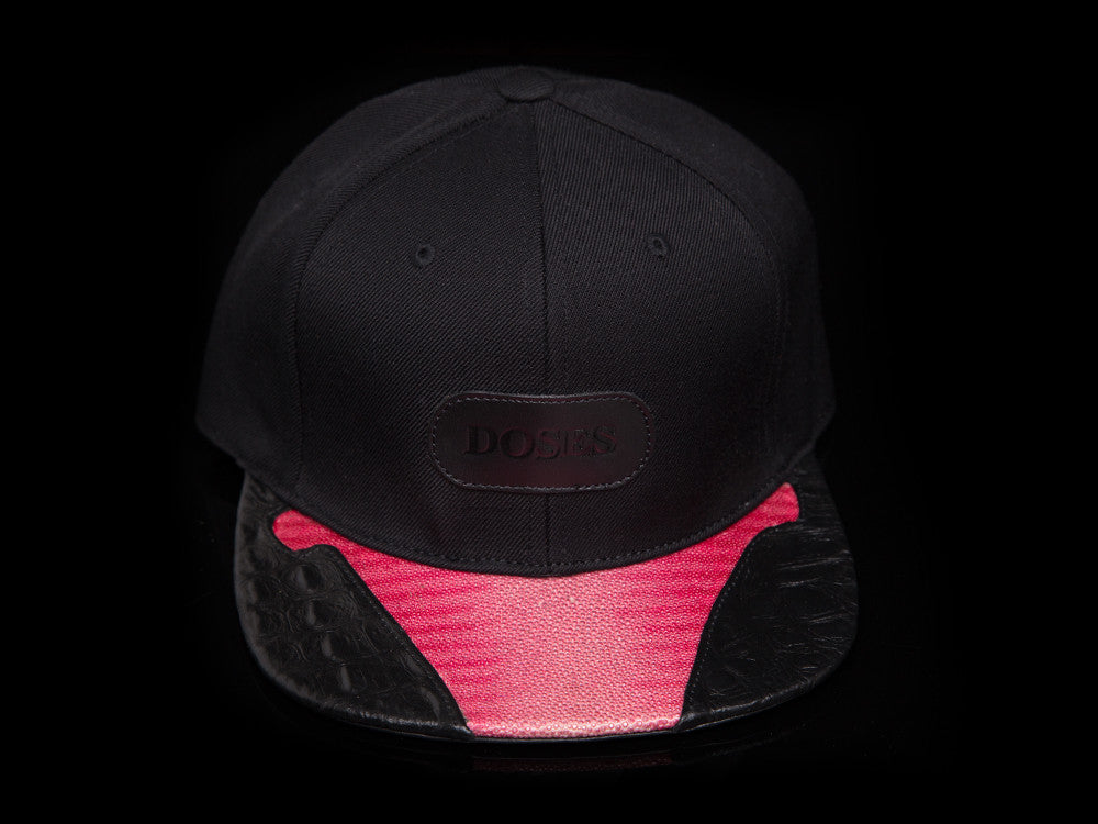 Doses UNIQUE Stingray and Alligator Strapback