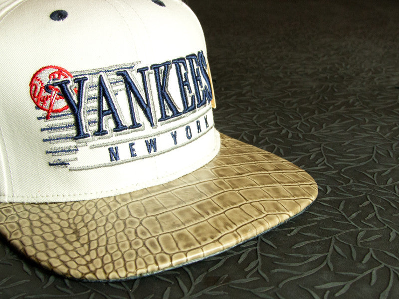 NY Yankees Alligator Strapback