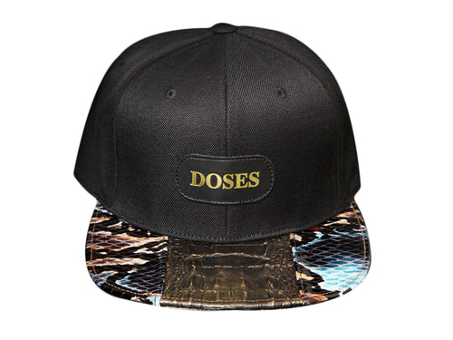 Doses UNIQUE Bronze Alligator Strapback