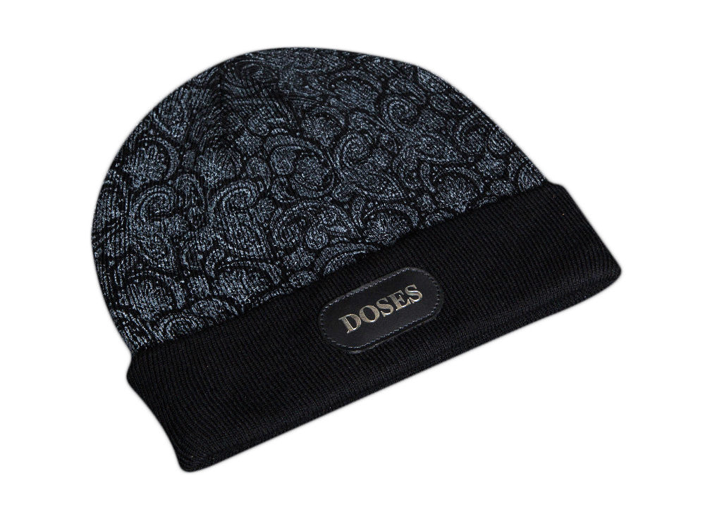 Doses Ghost Paisley Beanie