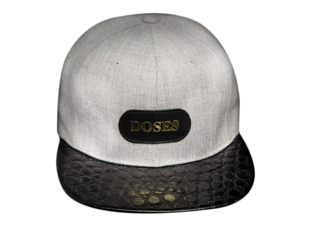 Doses Shadow Spotted Gator Strapback