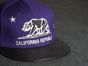 California Republic Ostrich Strapback