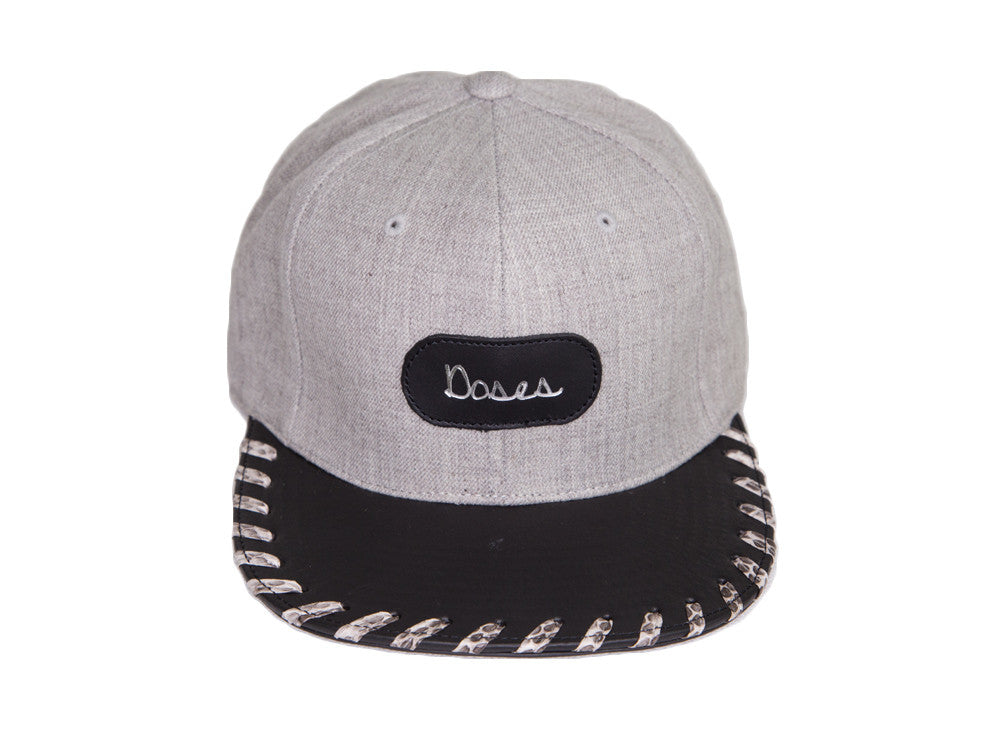 Doses Woven Snakeskin Strapback SOLD OUT *