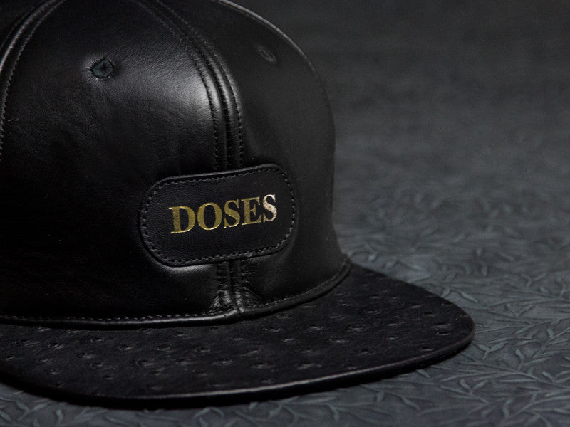 Gold Label Ostrich Leather Strapback