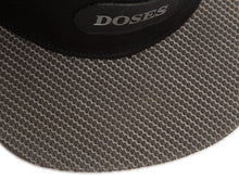 Doses Coal Carbon Leather Strapback
