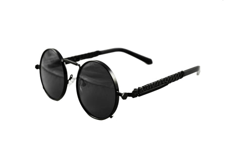 Doses Black Python Sherlock Sunglasses *SOLD OUT