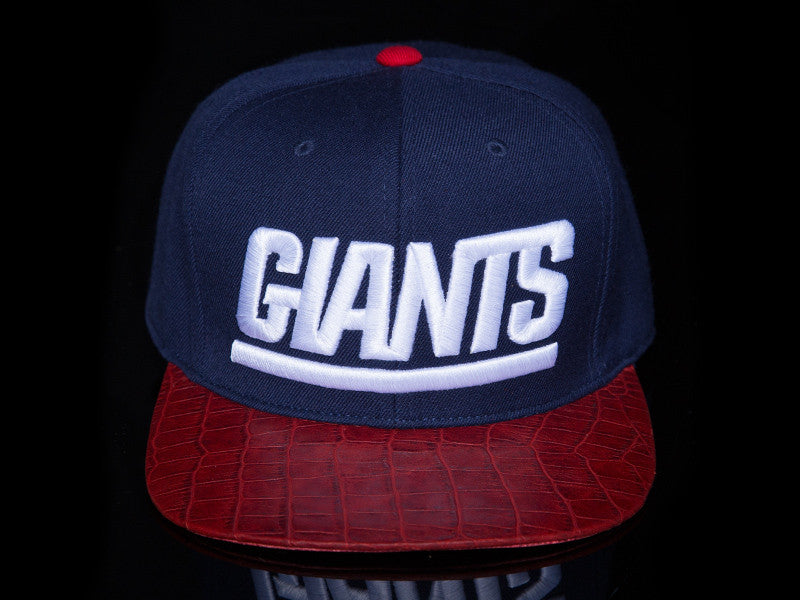 New York Giants Alligator Strapback