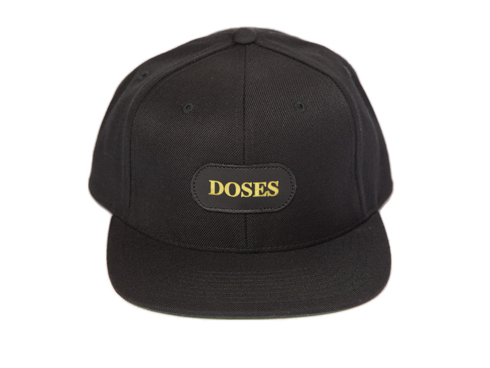 Doses BRED Alligator Gold Label Strapback